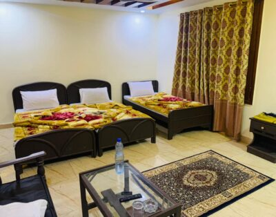 Luxury Room at Didar hotel in Behrain Swat (Family Room) (2)