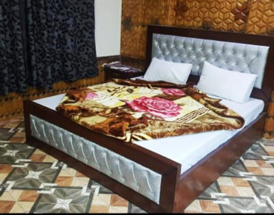 Luxury Rooms at Madina Tower Hotel in Behrain Swat ( Master Bedroom )