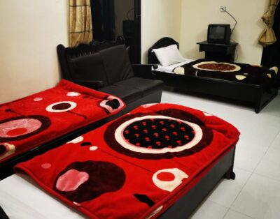 Luxury Rooms at Grace Hotel in Bahrain Swat (Triple Beds Room) 09