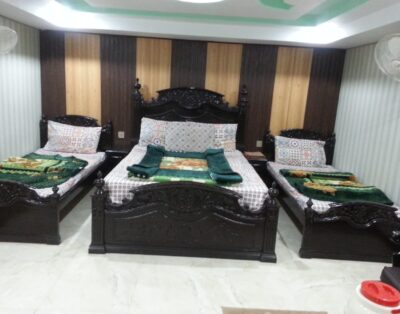 Luxury Rooms at Hotel Swiss Palace in Bahrain Swat (Four Beds Room ) 05