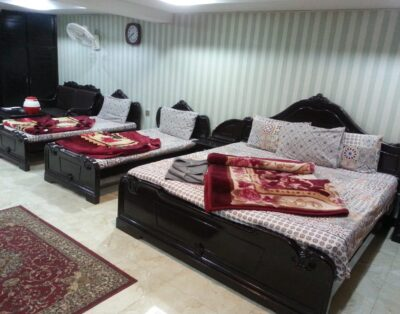 Luxury Rooms at Hotel Swiss Palace in Bahrain Swat ( Four Beds Room ) 03