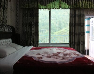 Luxury Rooms at Ever Green hotel Miandam Swat( Master Bedroom )