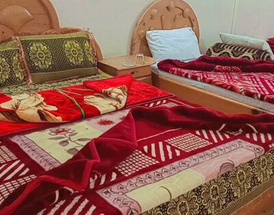 Luxury Rooms at Hotel Hilton Moon in kalam Swat( Four Beds Room ) 05
