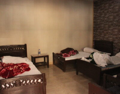 Luxury Rooms in Diamond Palace Kalam swat ( Four Single Beds)