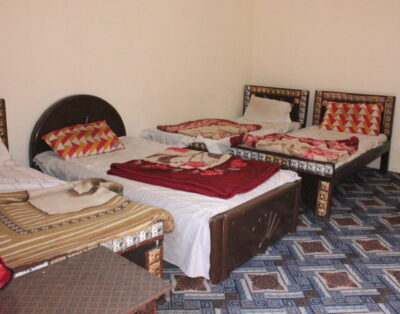 Luxury Rooms in Wesal Palace Kalam swat ( Four beds Room)
