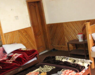 Luxury Rooms in Mountain View Kalam swat ( Three Single beds Room)