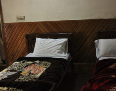 Luxury Rooms in Mountain View Kalam swat ( Two Single beds Room)