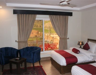 Delux Rooms in Maria Hotel Kalam swat ( Family Room)